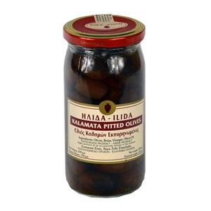 Ilida Olivy černé Kalamata bez pecky 370g