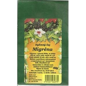 Vlčková čaj Migréna 50g