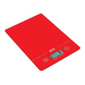 Kuchyňská váha ECG KV 117 SLIM, červená