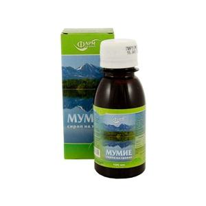 Farmgrup sirup mumio s bylinami 100ml