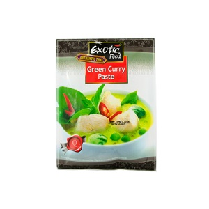 Exotic Food zelená kari pasta 50g