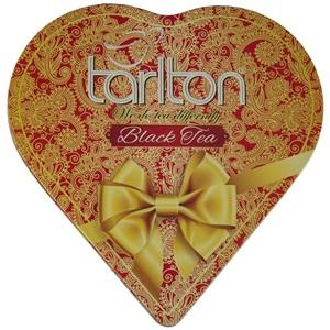 Tarlton Srdce černý čaj plech 150g