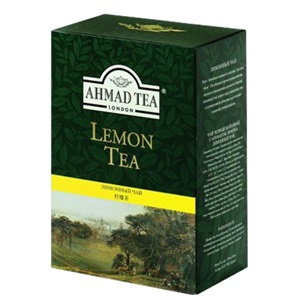 Ahmad Lemon Tea černý čaj 100g