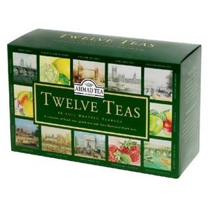 Ahmad Twelve Teas 12 druhů čaje ALU 60x2g
