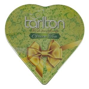 Tarlton Srdce zelený čaj 150g plech