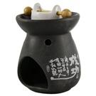 Aromatika aromalampa Váza černá
