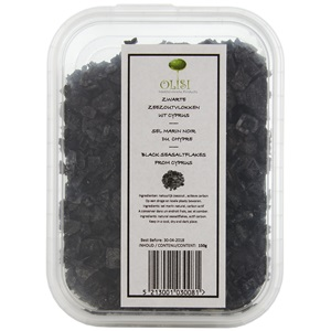Olisi Mořská sůl lávová z Kypru 150g