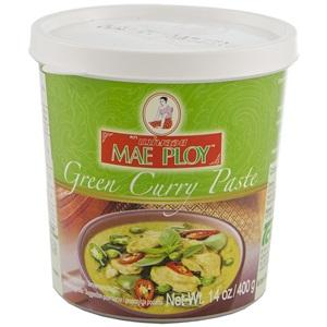 Mae Ploy zelená kari pasta 400g