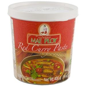 Mae Ploy červená kari pasta 400g
