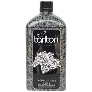 Tarlton Láhev Glorious Horse černý čaj plech 150g