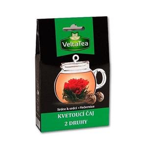 Velta Tea kvetoucí čaj Srdce + Večernice 2x6g