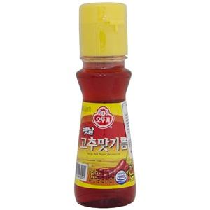 Ottogi sojový olej s chilli 80g