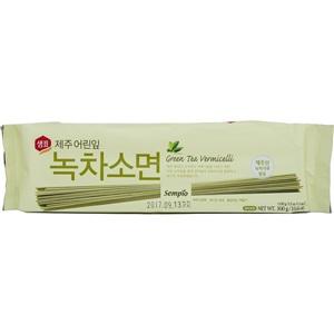 Sempio pšeničné nudle Zelený čaj 300g
