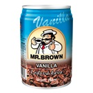 Mr. Brown Vanilla plech 250ml