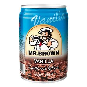 Mr. Brown Vanilla plech 240ml