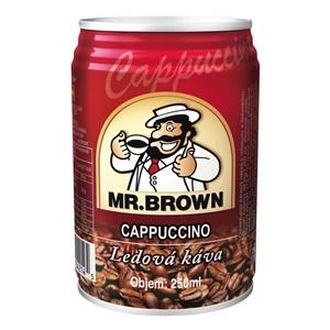 Mr. Brown Cappuccino plech 250ml