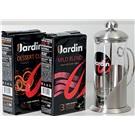 Jardin dárková sada Arabica 2x250g + frenchpress