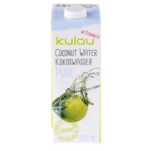 Kulau kokosová voda PURE BIO 1000ml