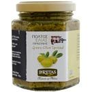 Bretas Pasta ze zelených oliv s kaparami 180g
