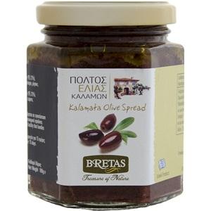 Bretas Pasta z černých oliv s kaparami 180g