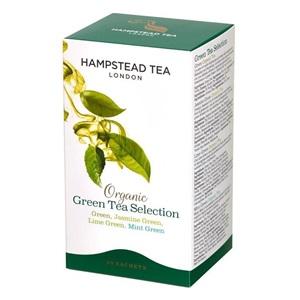 Hampstead Tea London selekce zelených čajů BIO 20ks