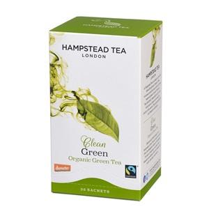 Hampstead Tea London zelený čaj BIO 20ks