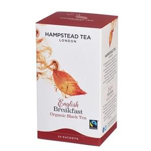 Hampstead Tea London English Breakfast černý čaj BIO 20ks