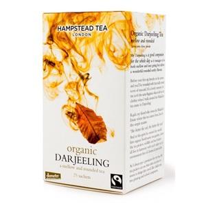 Hampstead Tea London Darjeeling černý čaj BIO 25ks