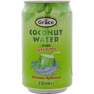 Grace kokosová voda plech 310ml