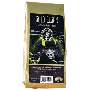 Mountain Gorilla Gold Elgon mletá 100g
