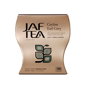JAFTEA Ceylon Earl Grey papír 100g