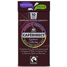 Cafédirect Fairtrade kapsle pro Nespresso 4 druhy 10ks