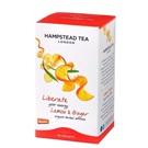 Hampstead Tea London citrónový čaj se zázvorem BIO 20ks