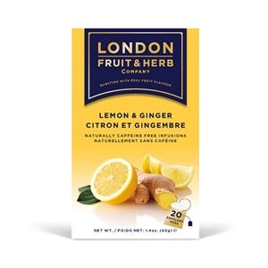 London Fruit & Herb citrónový čaj se zázvorem 20x2g