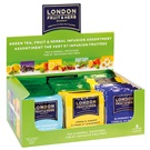 London Fruit & Herb Zelené, ovocné a bylinné čaje 80x2g