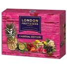 London Fruit & Herb sada ovocných čajů růžová 30x2g