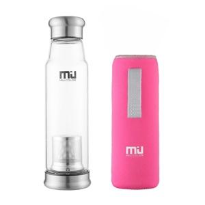 Miu Color Champion láhev se sítkem růžová 750ml