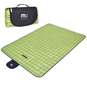 Miu Color pikniková deka dvouvrstvá 145x200cm zelená