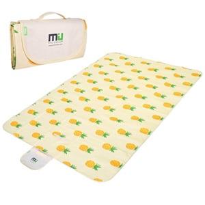 Miu Color pikniková deka dvouvrstvá 145x200cm ananas