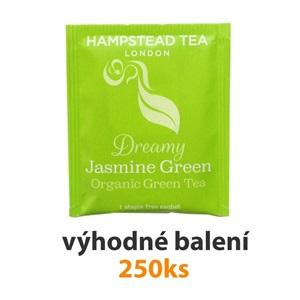 Hampstead Tea London BIO zelený čaj s jasmínem 250ks