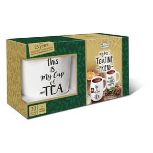 Ahmad Tea Time Freind dárková sada s hrnkem 30x2g ALU