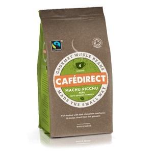 Cafédirect BIO Machu Picchu zrnková káva 227g
