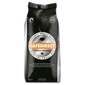 Cafédirect Espresso zrnková káva 1kg