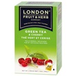 London Fruit & Herb zelený čaj s višní 20x2g