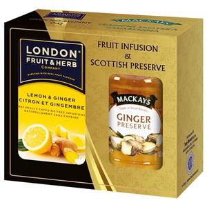 Mackay's London Citrón se zázvorem a zázvorová zavařenina 340g