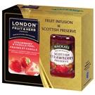 Mackay's London Jahoda s vanilkou a jahodový džem 340g