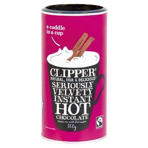 Clipper instantní horká čokoláda 350g