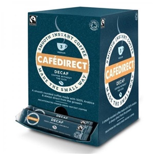 Cafédirect instantní káva arabika bez kofeinu BIO 250x1.8g