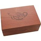 Prezentér dřevo konvička na 60 čajů