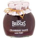 Mrs. Bridges džem Brusinka s portským vínem 320g